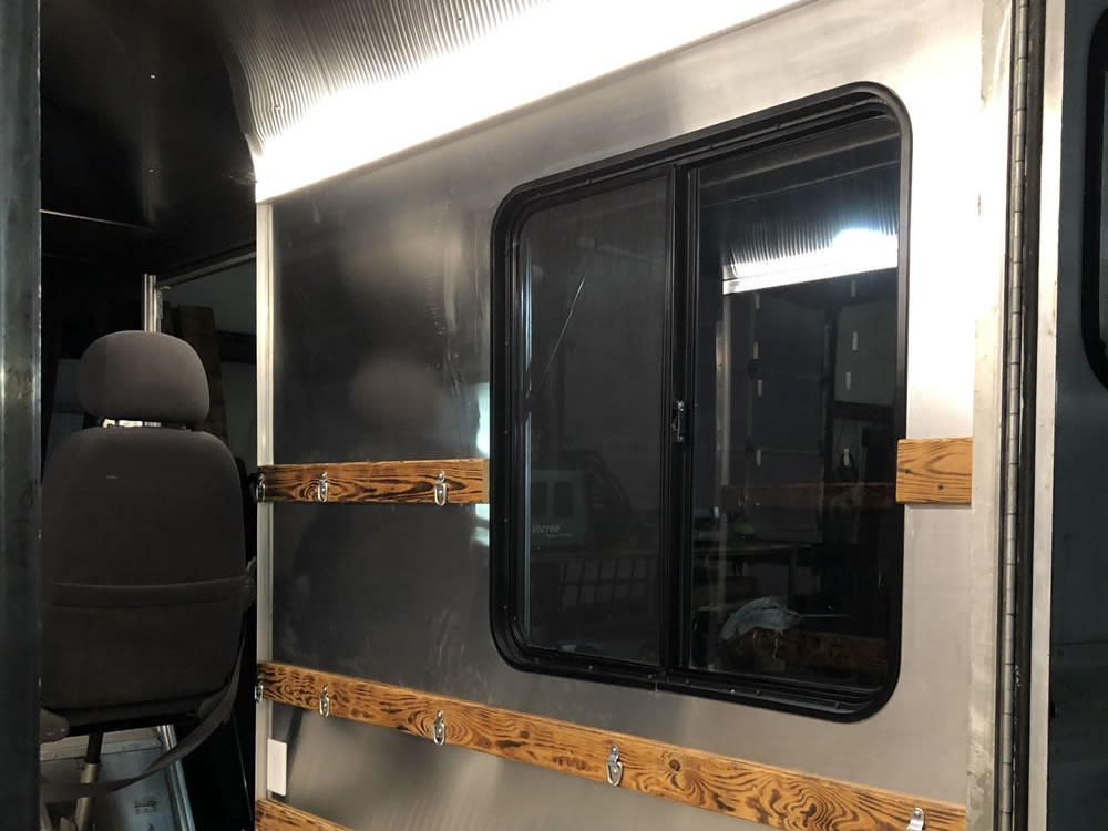 Appalachian Ice - Custom Food Truck Fabrication by K Riley Designs