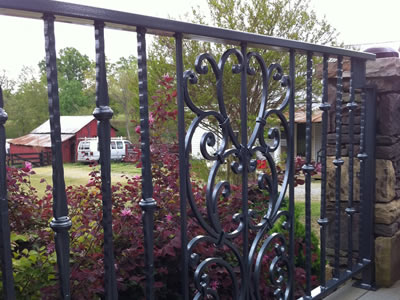 Metal Railings by K Riley Designs