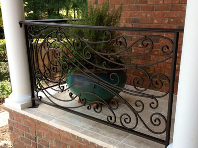 Outdoor Railings by K Riley Designs