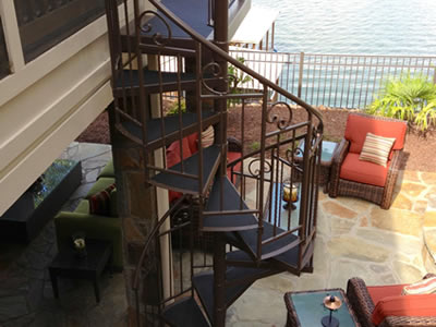 Custom Spiral Staircases by K Riley Designs